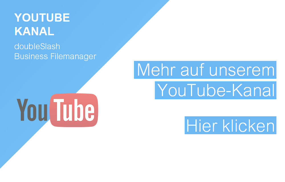 doubleSlash Business Filemanager Business Cloud Funktionen auf YouTube