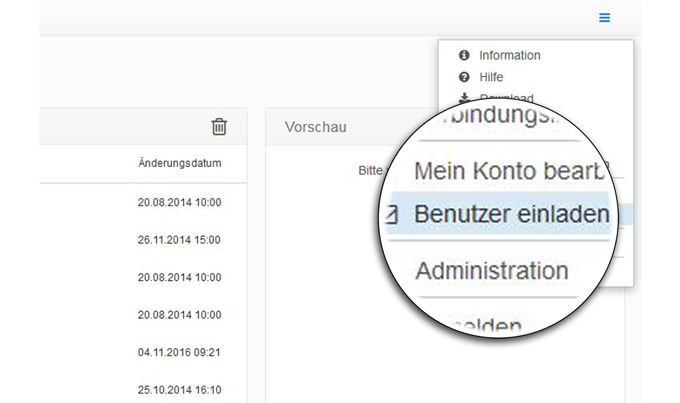 doubleSlash Business Filemanager: Registration Plugin - Benutzer einfach einladen